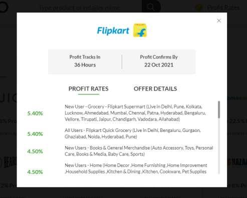 EarnKaro Flipkart Affiliate Register