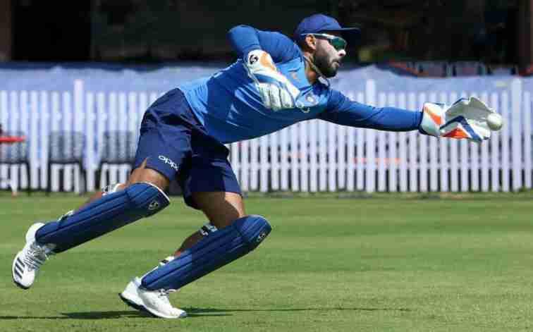 rishabh pant wicket keeper